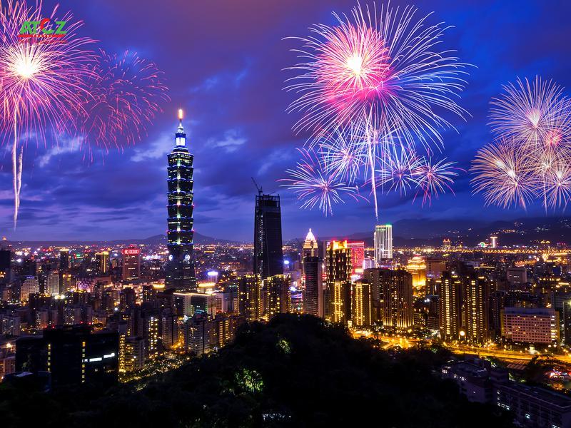Tour Đài Loan tết tây 2020: ĐÀI TRUNG – LÀNG CẦU VỒNG – CAO HÙNG – ĐÀI BẮC